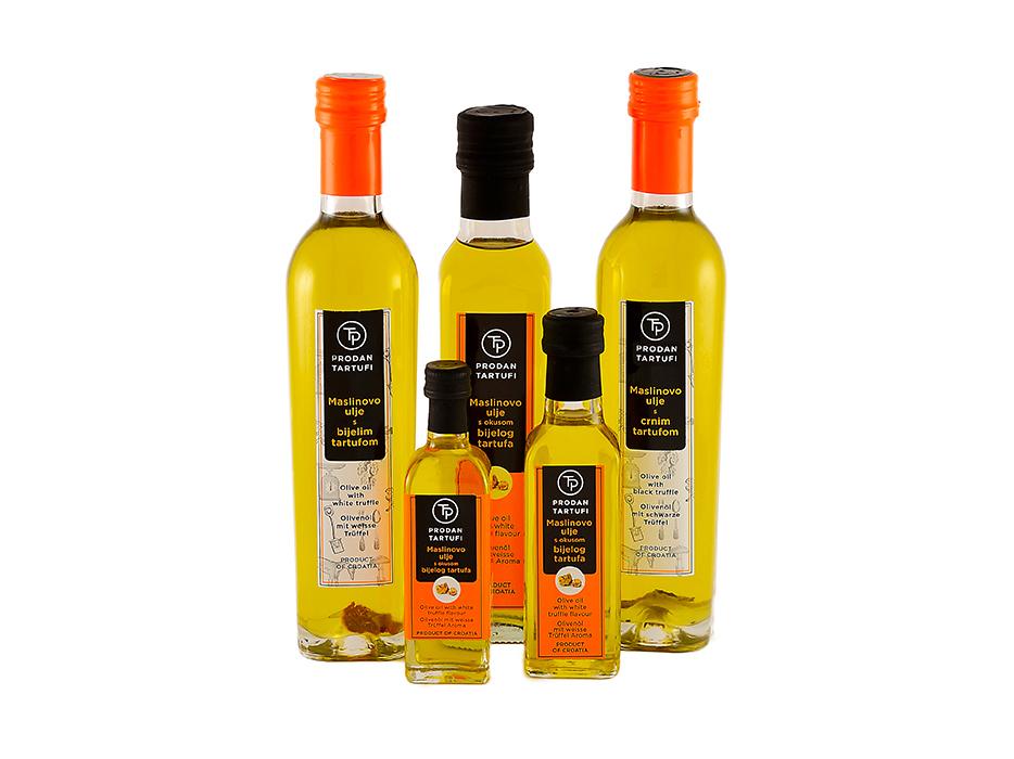 maslinova ulja s tartufima - prodan tartufi